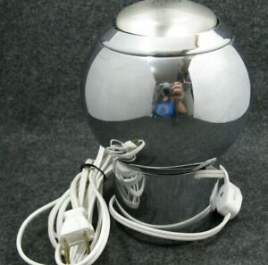 Mid-Century-Modern-Orb-Eyeball-Table-Desk-Lamp-Light-Kovacs-Chrome-Works