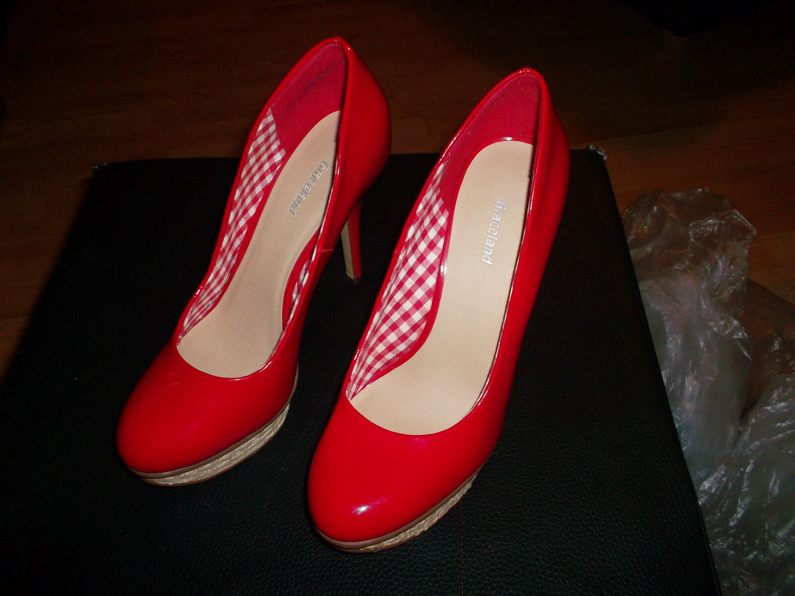 Neue rote high high high heels,grösse 37 843fbd