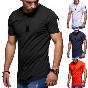 Jack-amp-Jones-T-Shirt-Hommes-O-Neck-Shirt-Manches-Courtes-Shirt-HOMME-Shirt-SALE