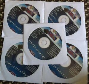 5-CDG-LOT-FRANK-SINATRA-KARAOKE-80-SONGS-79-99-SALE-CD-G-OLDIES-STANDARDS