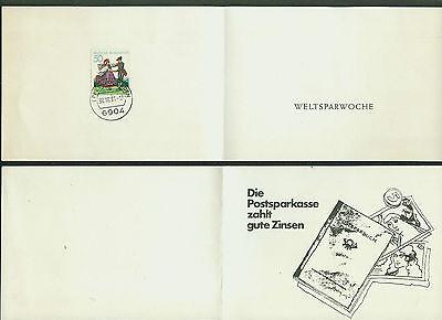 Marke FäHig Eppelheim Baden Postsparkasse Weltsparwoche Stempel 8.8.88-08 Faltkarte M Heimatgeschichte Deutschland