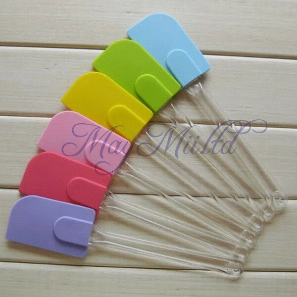 Silicone Spatula Baking Scraper Butter Knife Cooking Cake Kitchen Utensil Tool