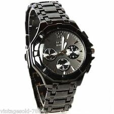 New Stylish Sober Wrist Watch for Men Black Dial In BOX PACKING