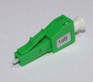 2 x LC//APC Fiber Optic Attenuator 15dB