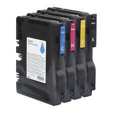 Los cartuchos de tinta CMYK Gel Original Para Impresora En Color Ricoh Aficio SG2100N GELJET