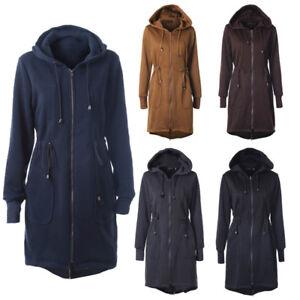 Women-Autumn-Winter-Coat-Long-Zipper-Hooded-Jacket-Hoodies-Sweatshirt-Outwear