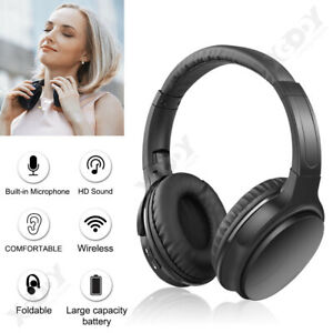 On-Ear-sans-fil-Bluetooth-5-0-ecouteur-HD-Heavy-Bass-Headset-Casque-mains-libres