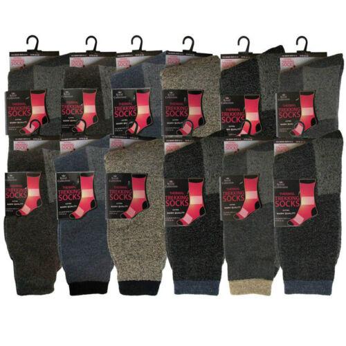Men/'s Thick Thermal Extra Warm Winter Trekking Walking Boot Work Socks 6-11