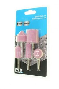 PTX-UNIVERSAL-FIT-GRINDING-STONE-SET-X-5-PIECES-AND-60-GRIT-NEW-GENUINE