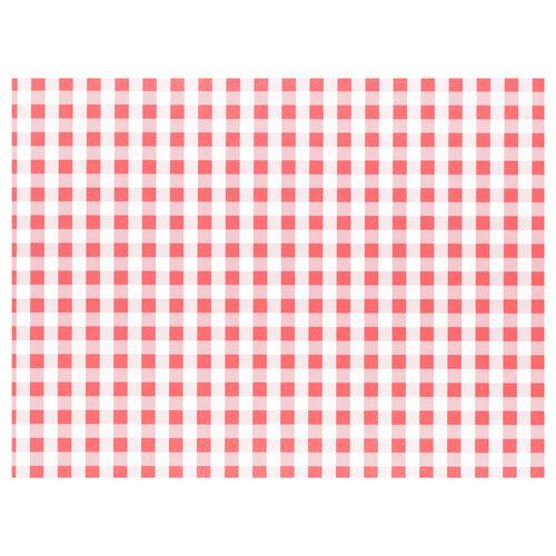 100 tischsets papier 30 x 40 CM rouge vichy table napperons papiertischets platzsets