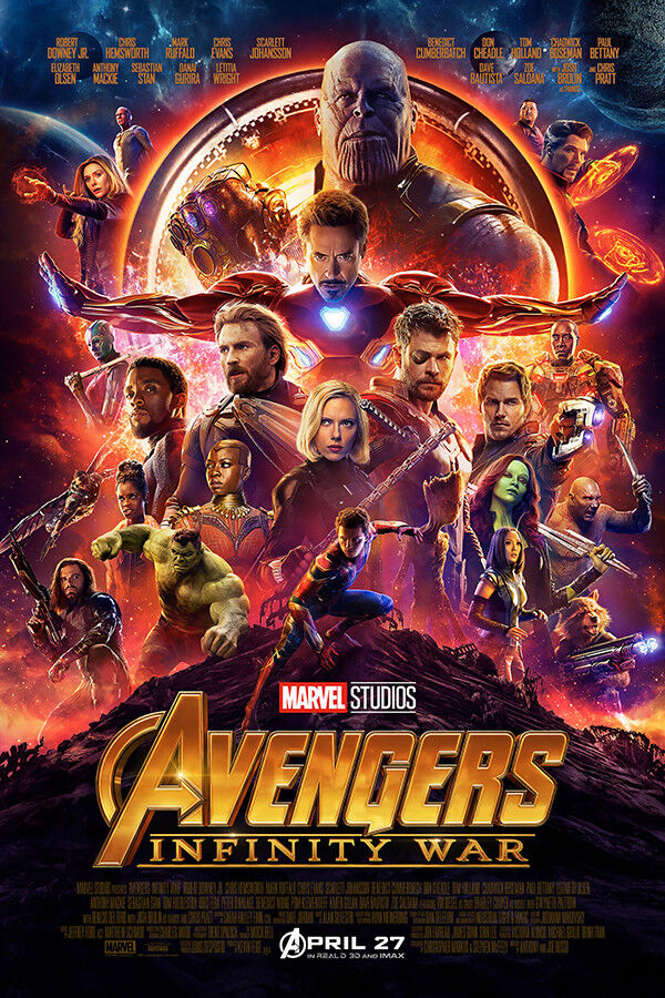 "Avengers Infinity War Art Poster 36x24/"" 21x14/"" 2017 Movie Film Decor Print Silk"
