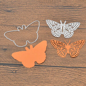 Butterfly cutting dies two sides diy stencil scrapbooking for Butterfly hands craft