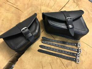 Set-Seitentaschen-Harley-Davidson-VROD-V-Rod-Schwingentasche-Tasche-Solo-Single
