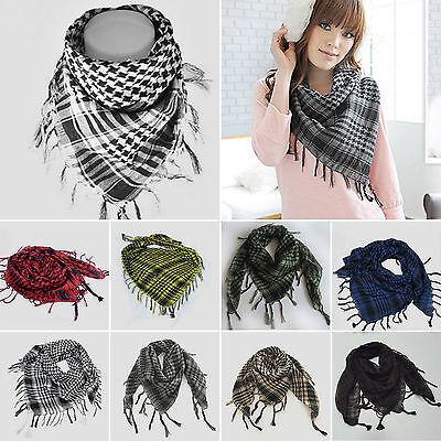PLO Pali Tuch Schal Tücher Baumwolle Quasten Arafat Halstuch Kopftuch Warm Mode