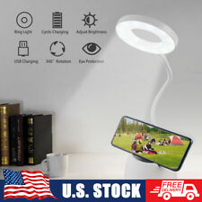 Led Dimmable Desk Lamp Reading Night Light Bedside Touch Sensor Usb Rechargeable