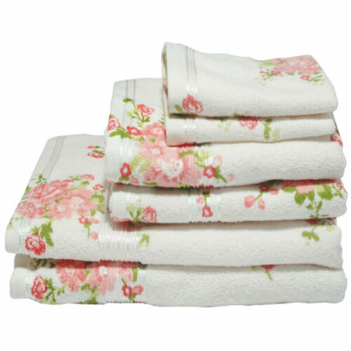 Harwoods Printed Rose 100/% Portuguese Cotton Face Cloth
