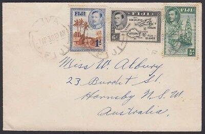 Hornsby Nsw AusgewäHltes Material Abdeckung 117-18 1938 125 Suva Sammlung Hier Fiji