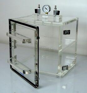 Superieur Image Is Loading Vacuum Desiccator Cabinet Acrylic W Shelf Amp Vacuum