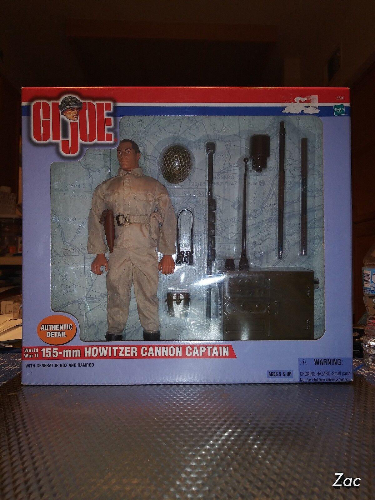 G.I.Joe WWII 155mm Howitzer Cannon Captain
