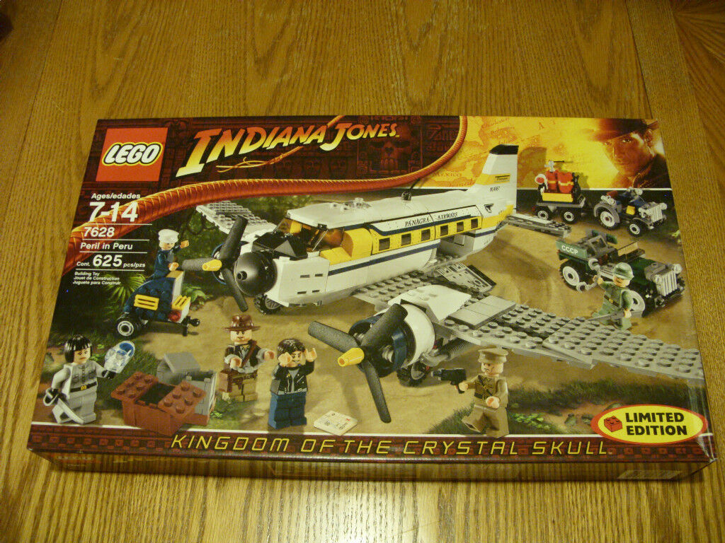 Lego Indiana Jones  7628 Peril In Peru Nuovo Sealed