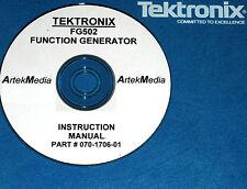 Tek Fg502 Function Gen Instruction Opsservmanual