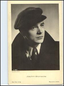 DDR-Postkarte-Kino-Buehne-Film-Foto-Verlag-AK-Schauspieler-Joachim-Brennecke