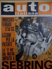 Auto Italiana 14 1963 Innocenti Ferrari 1750 CC - 12 ore di Sebring [Sc.7A]