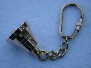 Brass-Ship-Bell-Keychain-Nautical-Maritime-Captain-Pirate-Key-Chain-Pendant