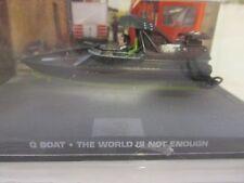 James Bond CARS COLLEZIONE 082 Q Barca IL MONDO NON BASTA
