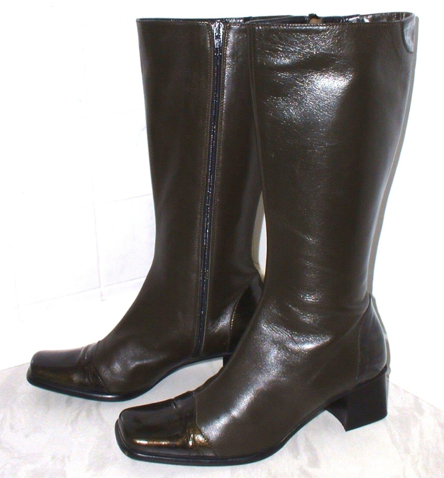 BRUNELLA  De Haute Qualité Bottes en cuir  Marron Taille 37,5  Cuir Doux
