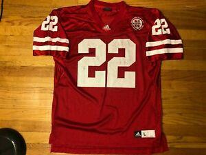 Vtg Adidas Nebraska Cornhuskers Football Jersey #22 REX BURKHEAD ...
