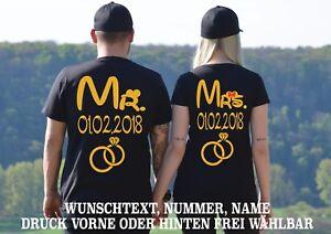 Insta Mariage Chemises Motiv shirt Xs Partenaire Monsieur Madame De Cadeau Look T Love 5xl qzOaBwqv