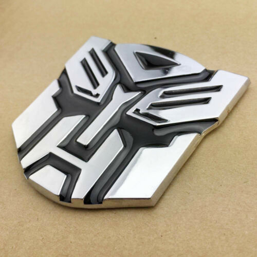 Transformers Autobot Deception Badge Emblem Sticker Car Trunk Gas Tank