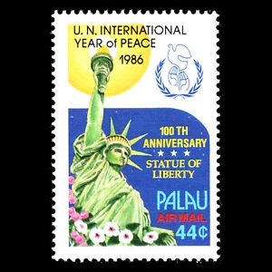 Palau-1986-100th-Anniversary-of-Statue-of-Liberty-New-York-Sc-C17-MNH