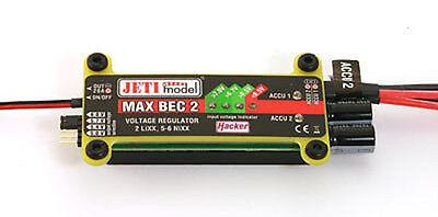 JETI DUPLEX 2.4 GHz MAX BEC 2 22985465 Spannungsregler