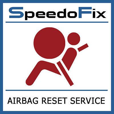 XV 2014 AIRBAG MODULE RESET SERVICE SRS RESTRAINT COMPUTER CONTROL REPAIR