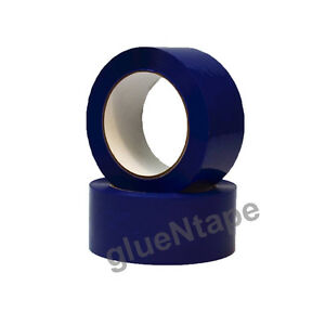 "Blue Color Carton Sealing Packing Tape 2"" x 330' / 48 mm x 110 yards (36 Rolls)"