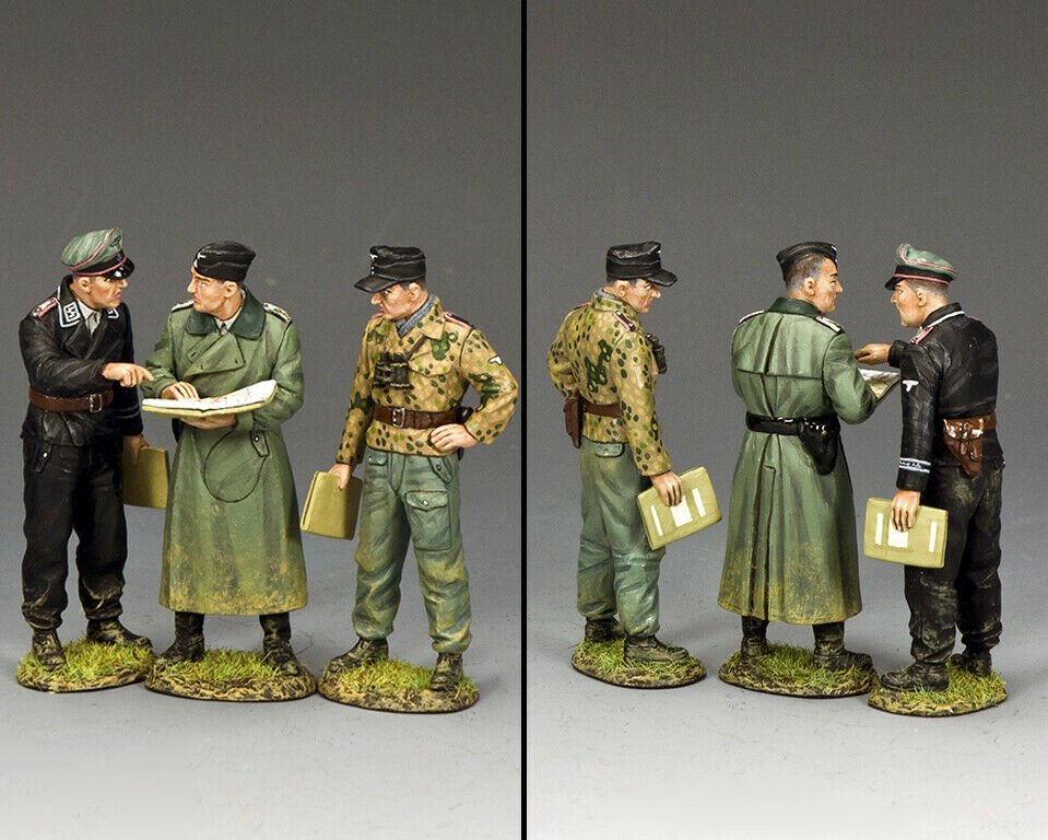 King & Country WW2 Deutsche Armee WS355 Kampffeld Konferenz MIB