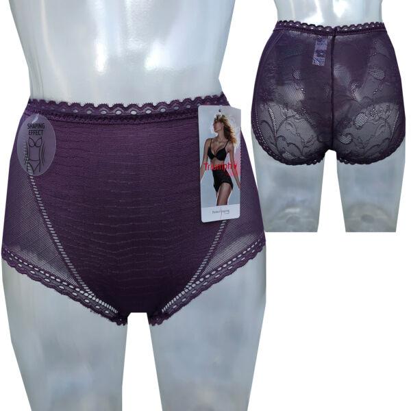Triumph Shape Sensation Lace Maxi Slip Miederhose Shapewear Gr. 36 – 46 Lila NEU