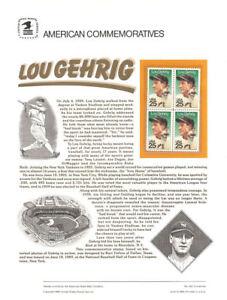 332-25c-Lou-Gehrig-2417-USPS-Commemorative-Stamp-Panel