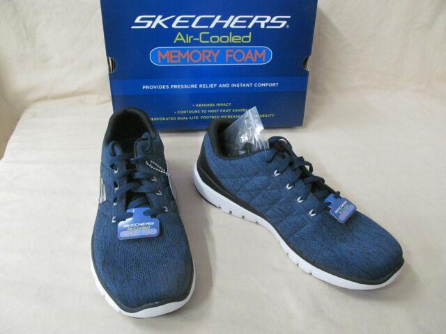 Men's Skechers 13 M 52957/blbk Blue