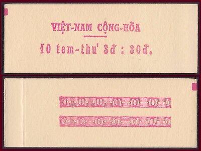 The Best Vietnam Du Sud N°329** En Carnet Cote 200€,1968 South Vietnam Booklet 290ab Mnh Profit Small Stamps
