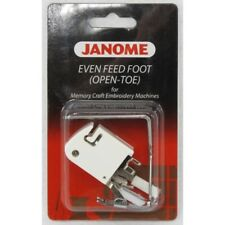 Horizontal Rotary Hook Models Janome Even Feed Foot Open Toe
