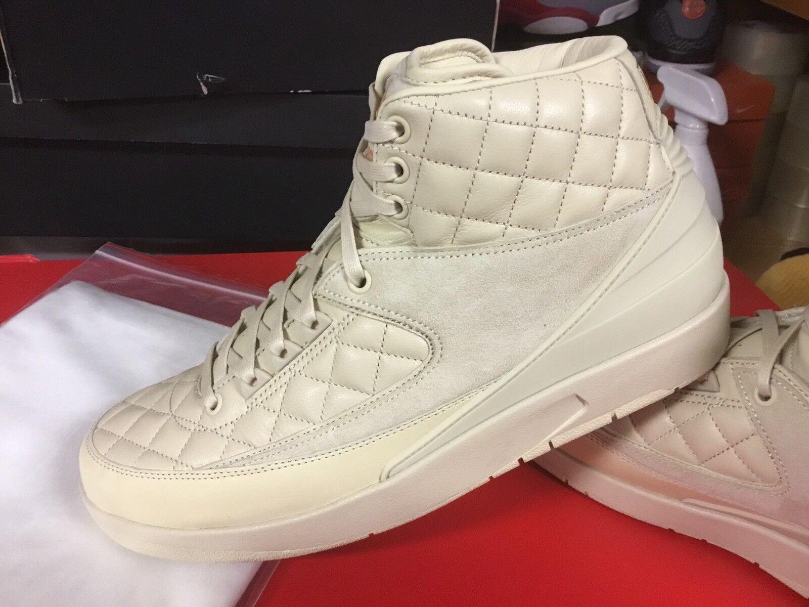 promo code 99992 14c1d Nike Air Jordan 2 Retro Just Don Beach Sz 10.5 DS 100 Authentic With Receipt