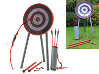 Archery Game Set Bow Arrows Toy For Family Kids Adults Garden Picnic Games