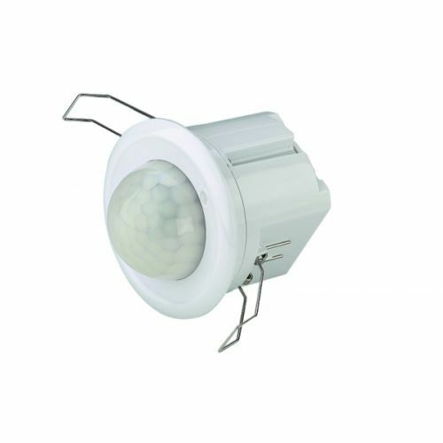 Energy Saving Recessed Mounted Infra Red Detection Motion PIR Occupancy Detector