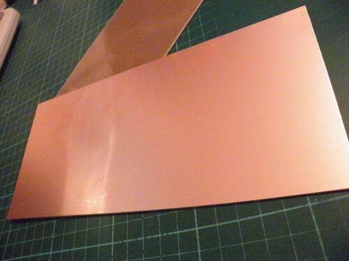 100 x 160mm Copper Clad PCB FR2 Laminate Single Side AKA SRBP   061
