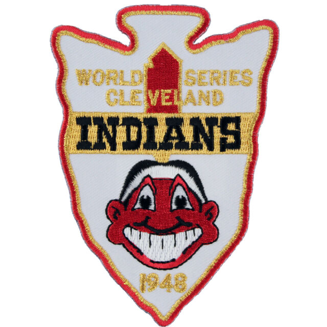 1948 Cleveland Indians Mlb World Series Champions Sleeve Patch