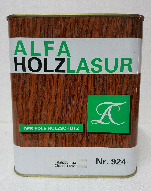 ALFA Holzlasur Der Edle Holzschutz  L