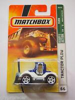 Matchbox Tractor Plow 66 Farm Plow